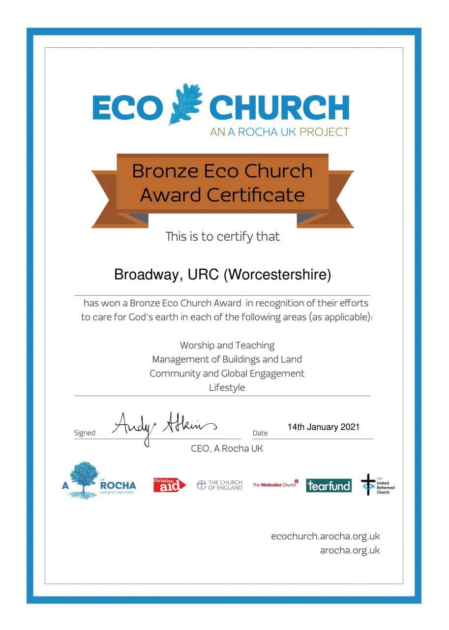 Bronze Eco Award